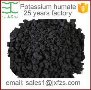 Het Kalium Humate van de Prijs van de fabriek 70% Humusachtig Zuur, 12% K20