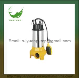 pompa ad acqua sommergibile delle acque luride di 1100W 1.5HP S.S. (VM1100D)