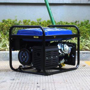 Generatore rotondo del gas naturale di monofase 5kVA del blocco per grafici del fornitore con esperienza del bisonte (Cina) BS6500p 5kw