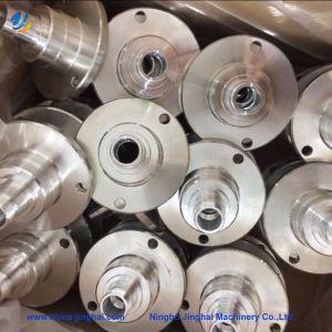 Multiestágio Usinagem CNC personalizada do Eixo de aço inoxidável com o parafuso do chassi