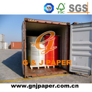 Rollo Jumbo/papel autocopiante NCR para continuar la producción de forma