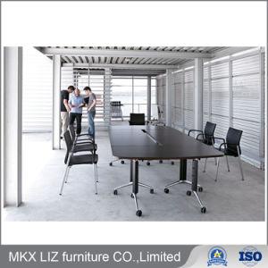 Moderno diseño apilable de plegado Altura Ajustable Reunión Mesa de formación (FB001)