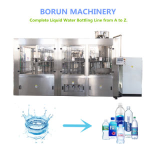 Vloeibare het Vullen van het Water van de Fles van de Verkoop 500ml van China Hete Plastic Zuivere Machine