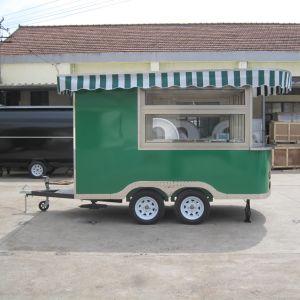 바퀴를 가진 이동할 수 있는 음식 손수레, 거리 음식 손수레 트레일러 Jy-B22