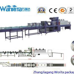 Wd-350un vaso de tipo lineal automático maquinaria de envasado retráctil de