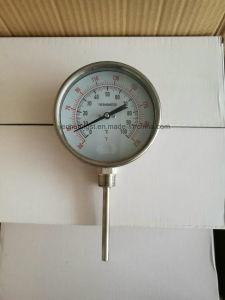 '' termometro bimetallico registrabile dell'acciaio inossidabile 6