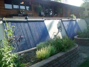 Коллектор Солнечной Collector для горячей воды отопление проекта