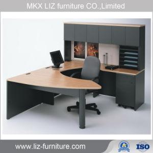 Estilo clásico con muebles de oficina modular Gerente Ejecutivo Escritorio mesa de madera D5765