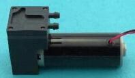 Micro- van de Vacuümpomp 24V/12V gelijkstroom van de Lucht van de hoge druk 400kpa gelijkstroom de MiniPomp van de Zuiger 4.5L/M - 8.5L/M 35*52*105mm