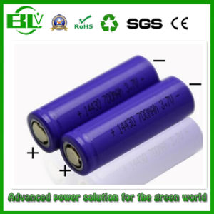 LiFePO4 Lithium 3.2V 400mAh 14430 Rechargeable Battery