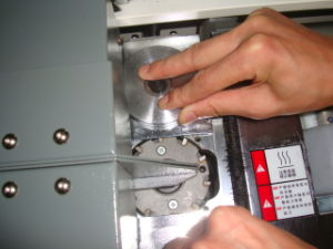 熱い溶解の接着剤の製本機械(50X-A3/A4)
