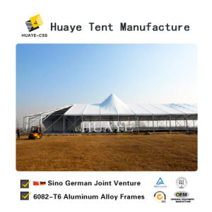 Neuer Entwurfs-im Freien haltbares Partei-Ereignis-Zelt mit Glaswänden