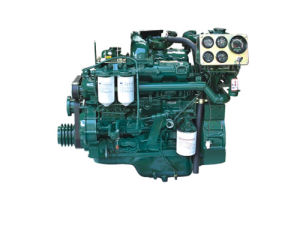 진짜 물 Yuchai 냉각 바다 디젤 엔진 Yc4d55c