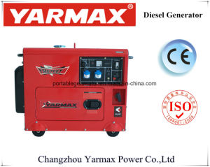 燃料節約の無声タイプディーゼル発電機高い作業効率6700tシリーズ