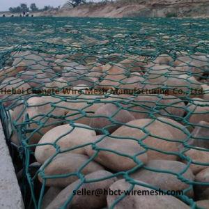 Materasso rivestito galvanizzato del PVC Gabion del materasso di Reno