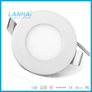 3インチ90mmの3Wによって引込められる天井円形LEDの照明灯