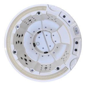 Ronda de Doha SPA com jatos de 65 14 luzes LED TV Pop-up