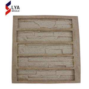 Vormen van de Steen van de Muur van het silicone de Kunstmatige Decoratieve voor Beton