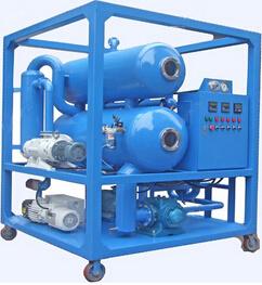 Épurateur de pétrole industriel de vide de Double-Étape
