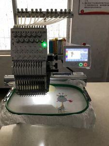 형제 소프트웨어 판매 2 헤드 같이 공업용 미싱기가 다만 모자 편평한 t-셔츠를 위한 Tajima 타입-2 헤드 자수 기계에 의하여 자수 중국 구두를 신긴다