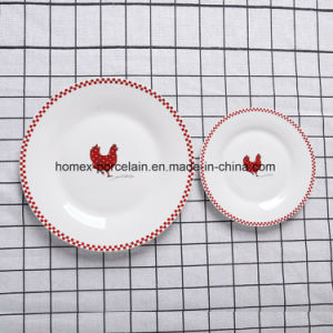 Ensemble de la vaisselle en porcelaine de Chine fabricant
