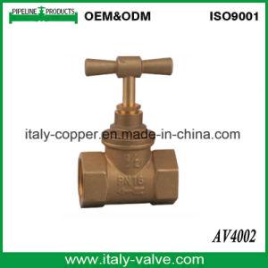 Venda quente Forjados Sob a Válvula de paragem de latão (AV4002)