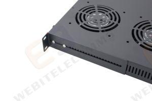 19inch Temperaturfühler-Ventilator-Gerät für Netz-Zahnstange