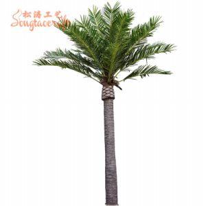 海の日付の木の室内装飾の人工的な木の熱い販売の大規模なシミュレーション