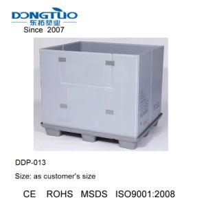 1200X800 Honeycomb Caixa de paletes, paletes de plástico, caixa de paletes de dobragem