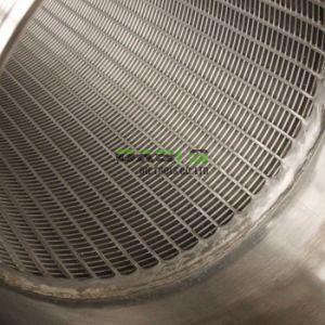 8インチ水十分スクリーン細長かった管のジョンソンのウェッジワイヤースクリーンの管