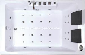 Acrílico cubierta de montaje Bañera de hidromasaje (TLP-642)