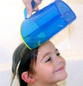 Baby / Child Wash Hair Eye Shield Banho Shampoo Rinse Cup