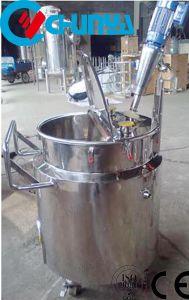 Het Roestvrij staal van de Rang van het voedsel poetste Beweegbare het Mengen zich Tank op