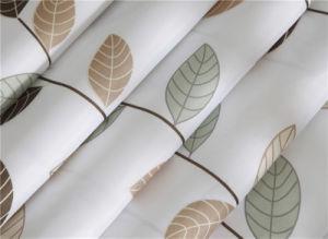 100%Polyester étanche bain Anti-Mildew Rideau avec oeillets rideau (03S0083)