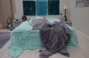 China Fabricante Fleece Super Macio longo manta Shaggy
