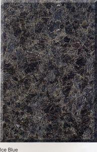 Het Blauwe Kleur Opgepoetste Graniet van het ijs