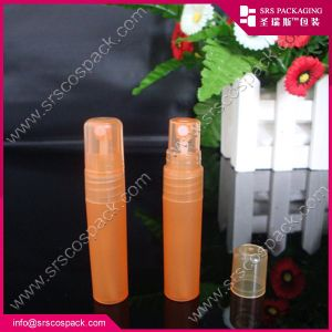 플라스틱 살포 향수 펌프 분무기