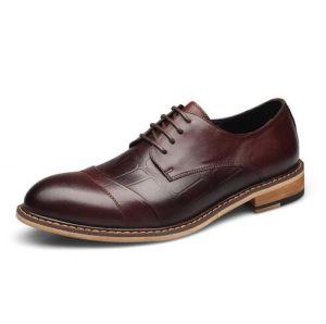 Venta caliente zapatos de cuero de alta calidad zapatos de hombres de negocios (AKPX28).