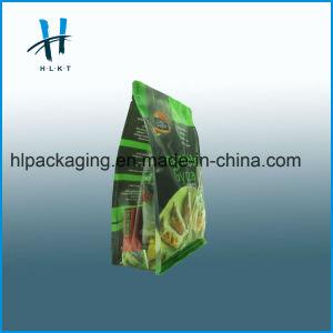 Impresos personalizados Stand up Pouch alimentos envases de prendas de vestir Bolsa Bolsa de papel de la bolsa de plástico con cierre de cremallera