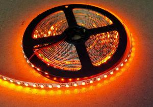 Diodo emissor de luz ambarino 3528 da tira SMD do diodo emissor de luz da cor com TUV/Ce