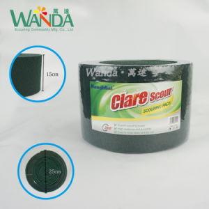 Абразивные чистящие средства для тяжелого режима работы блока зеленый нейлоновые губки с абразивным покрытием в рулон