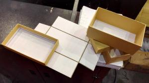 Boîte rigide machine de formage