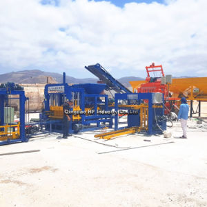 Qt5-15 automático de bloqueo de la pavimentación de hormigón de cemento ladrillo hueco Curbstone máquina bloquera