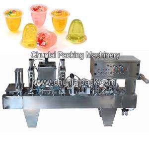 Taza de gelatina de máquina de llenado y sellado