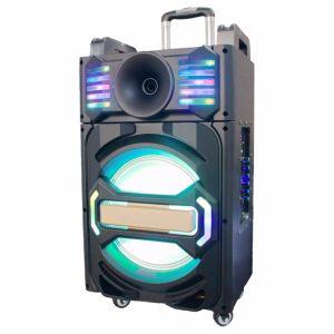 2017 신식 휴대용 당 LED 빛을%s 가진 재충전용 휴대용 Bluetooth 스피커--Qx-1212