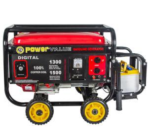 El valor de 1,5 Kw de potencia de salida de CA de Taizhou tipo Generator, generador de gasolina 4 tiempos 5.5HP a la venta