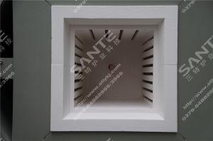 1200c вакуумные печи азота двойные двери печи дизайн камеры размером 250x300x250мм