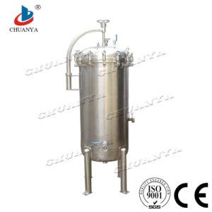 En acier inoxydable poli industrielles du boîtier de filtre de sécurité personnalisés