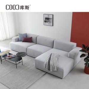 Современном европейском стиле гостиной L-образный Modular Fabric угловой диваны,
