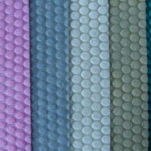 Tecido Non-Woven com tecido de ponto circular para sapatas (trcd-001)